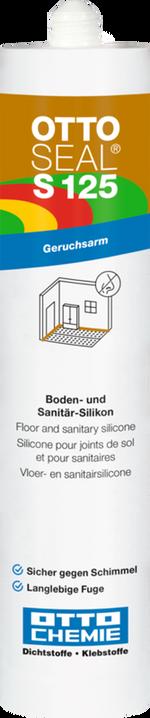 OTTOSEAL S125 Boden-u. Sanitär-Silikon