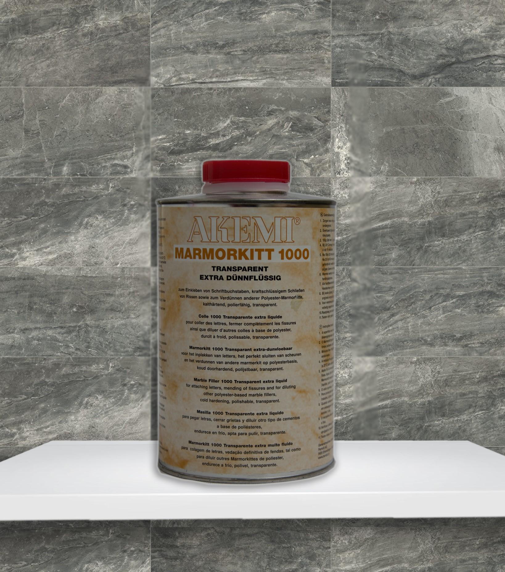 Akemi Marmorkitt 1000 Transparent Extra Dünnflüssig 900ml 10718