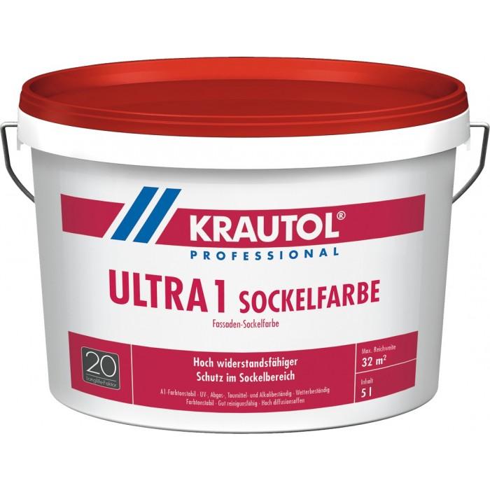 KRAUTOL ULTRA1 SOCKELFARBE - Hoch widerstandsfähiger Schutz im Sockelbereich 5L