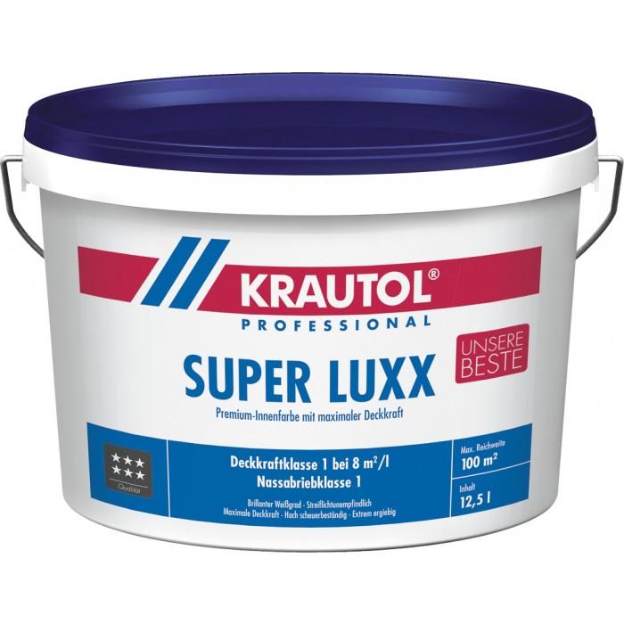 KRAUTOL SUPER LUXX weiß - Premium-Farbe mit maximaler Deckkraft