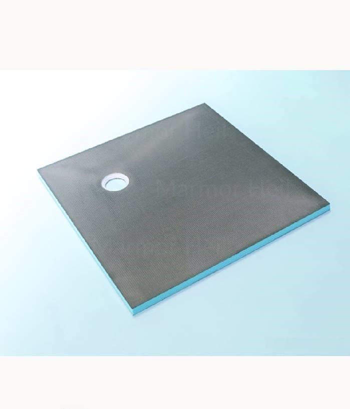 Wedi Fundo Primo - Bodenelement Quadratisch, Ablauf dezentral