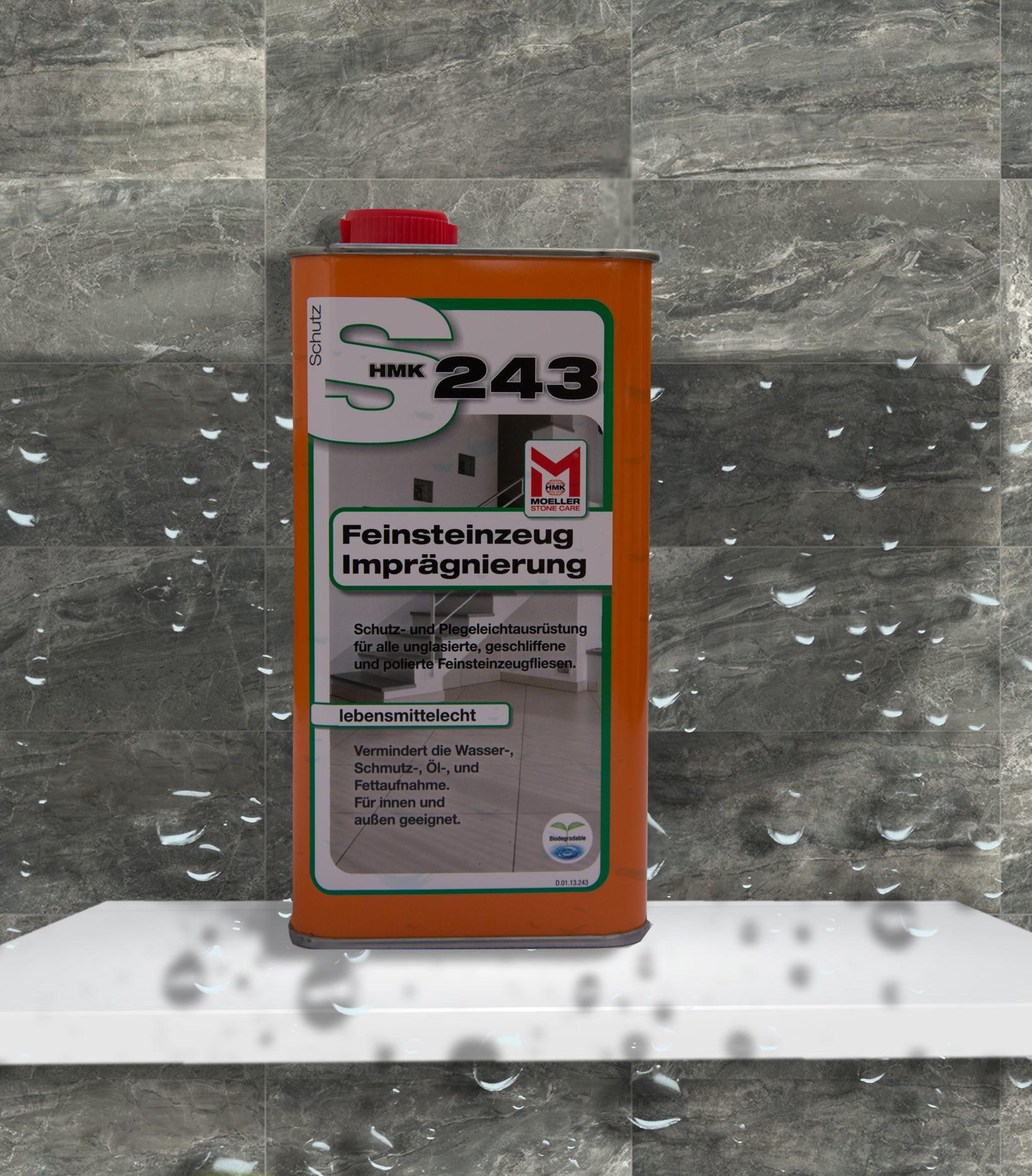 HMK S243 Feinsteinzeug-Imprägnierung