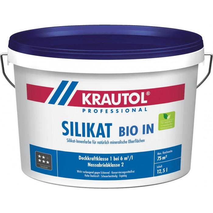 KRAUTOL SILIKAT BIO IN weiß - Innenfarbe für natürlich mineralische Oberfläche