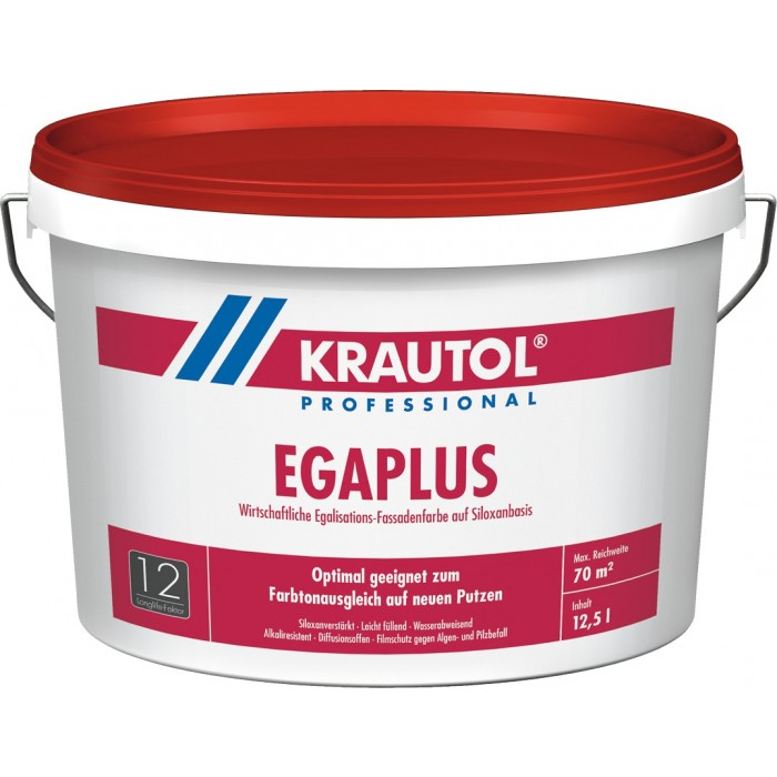 KRAUTOL EGA PLUS - Egalisations-Fassadenfarbe auf Siloxanbasis weiß