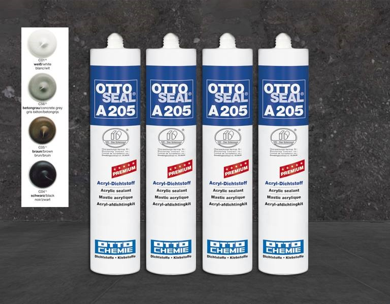 OTTOSEAL A205 Der Premium-Acryl-Dichtstoff