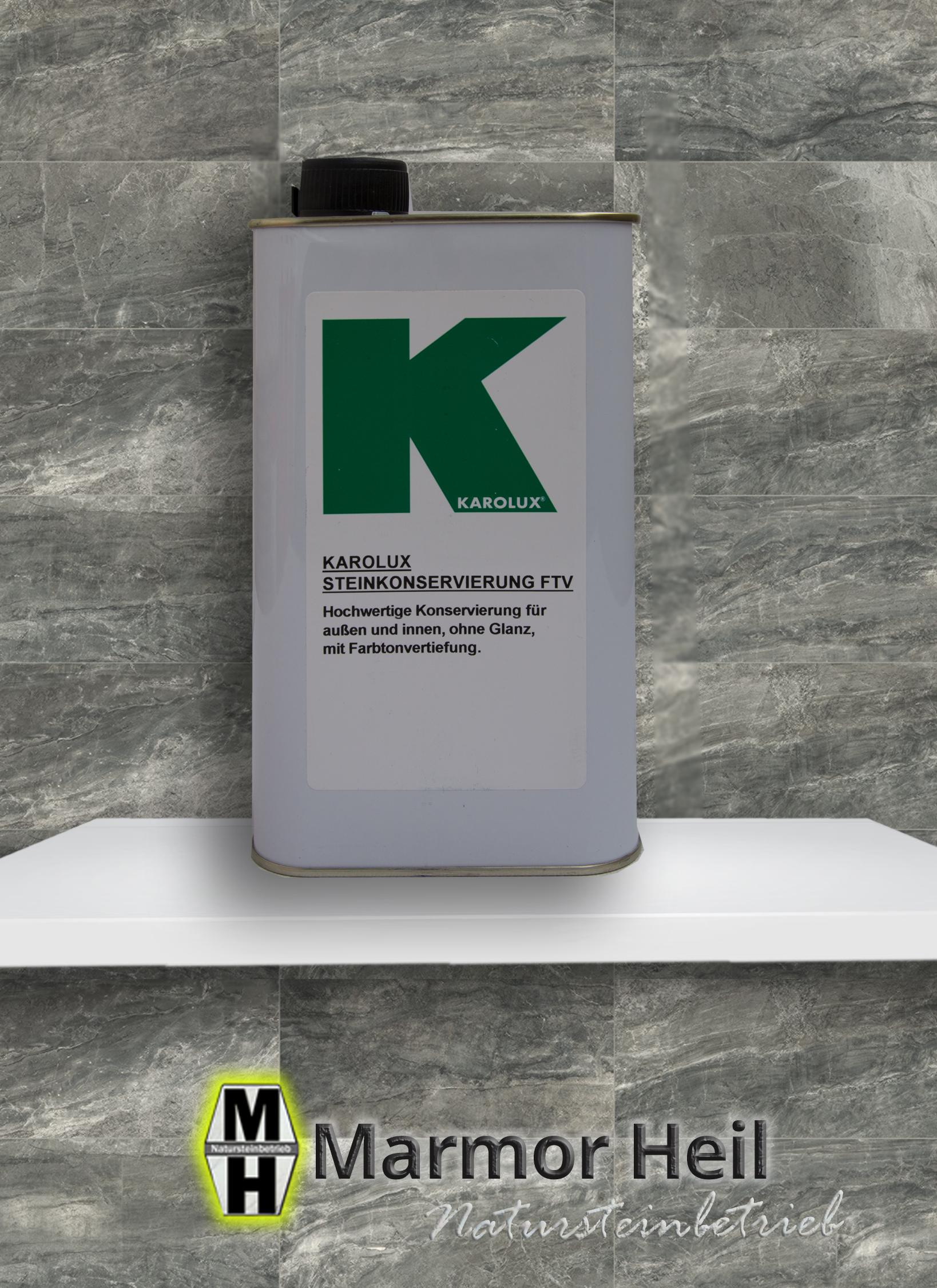 Karolux Steinkonservierung FTV - Imprägnierung
