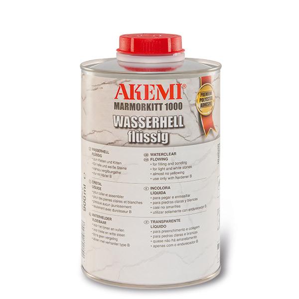 Akemi Marmorkitt 1000 Transparent L-Spezial Wasserhell 900ml 10722