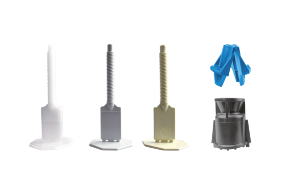 IndorTec® Fliesen-Nivelliersystem Gewindelaschen 100 Stück