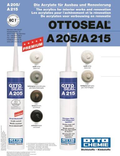 OTTOSEAL A205/A215 Farbkarte