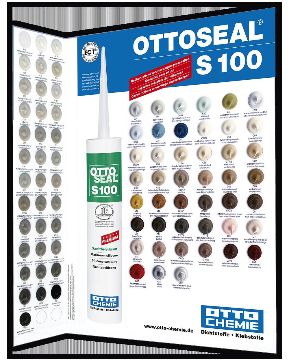 OTTOSEAL S100 Farbkarte
