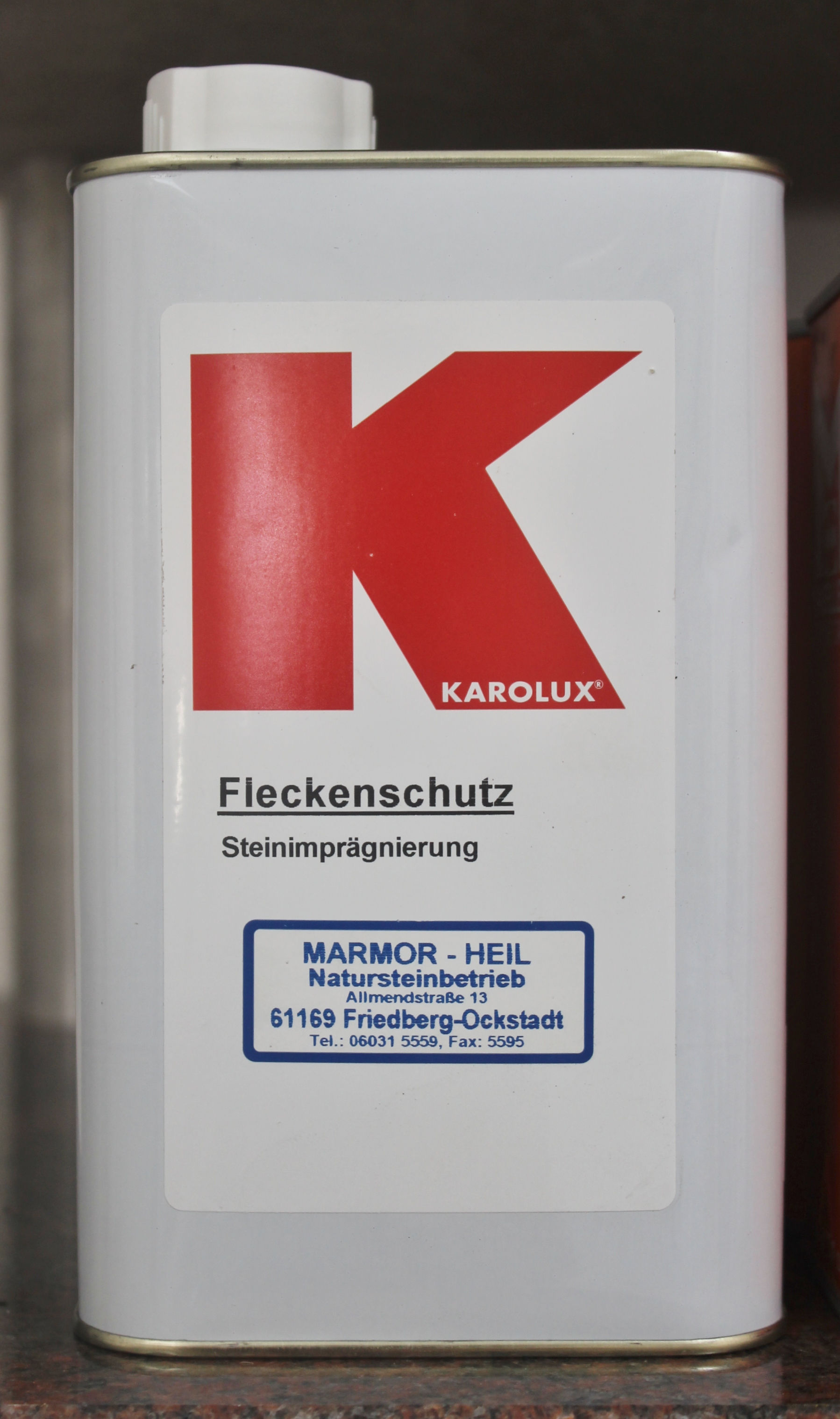Karolux Fleckschutz Imprägnierung