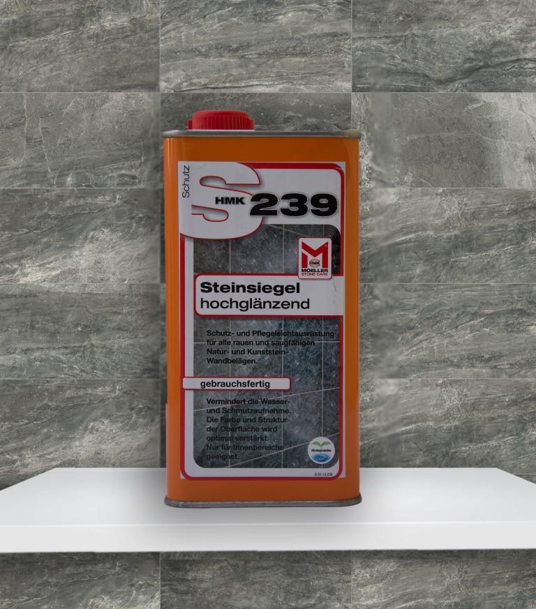 HMK S239 Steinsiegel - hochglänzend