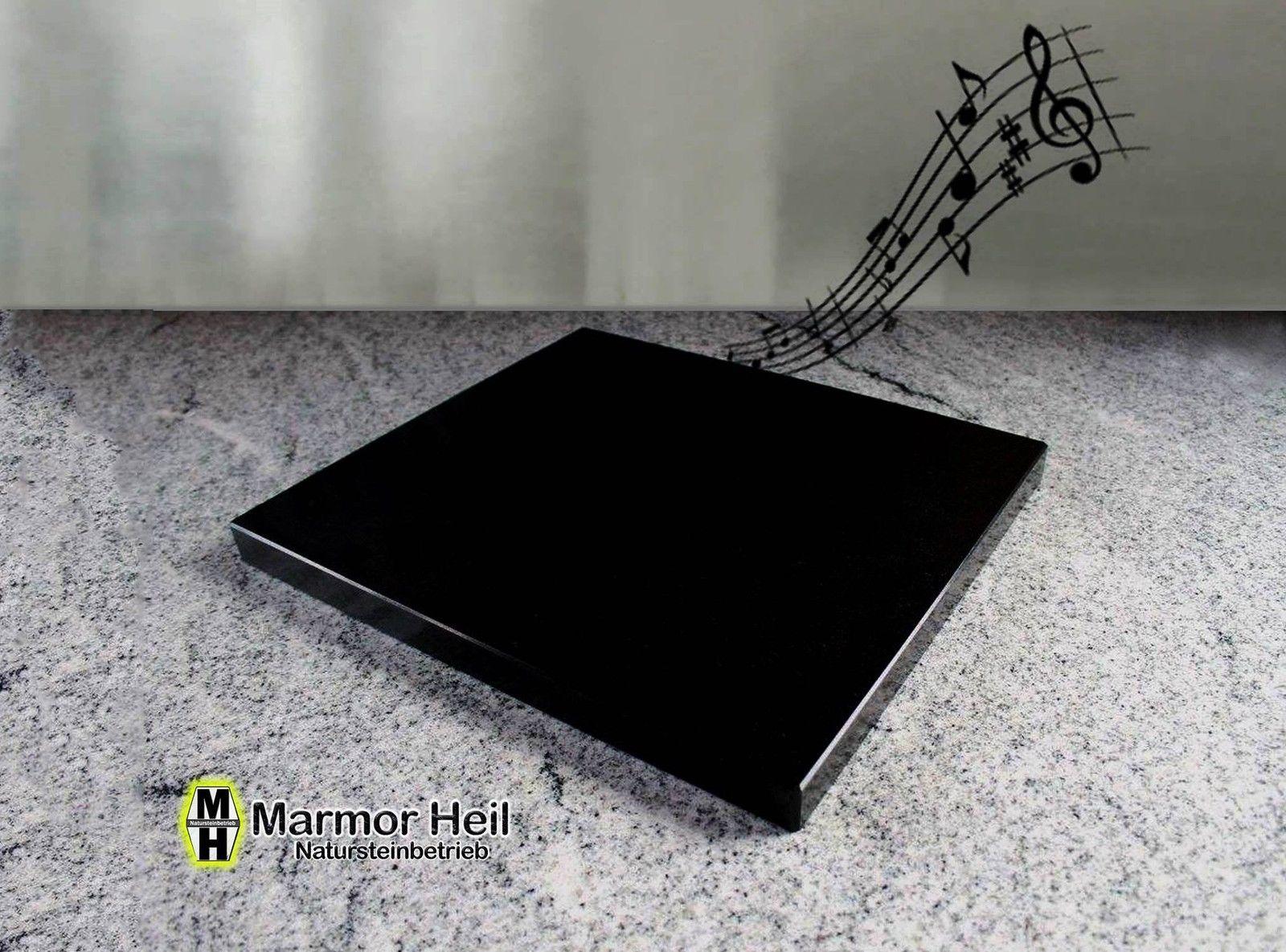 Nero Assoluto 3cm Entkopplungsplatte