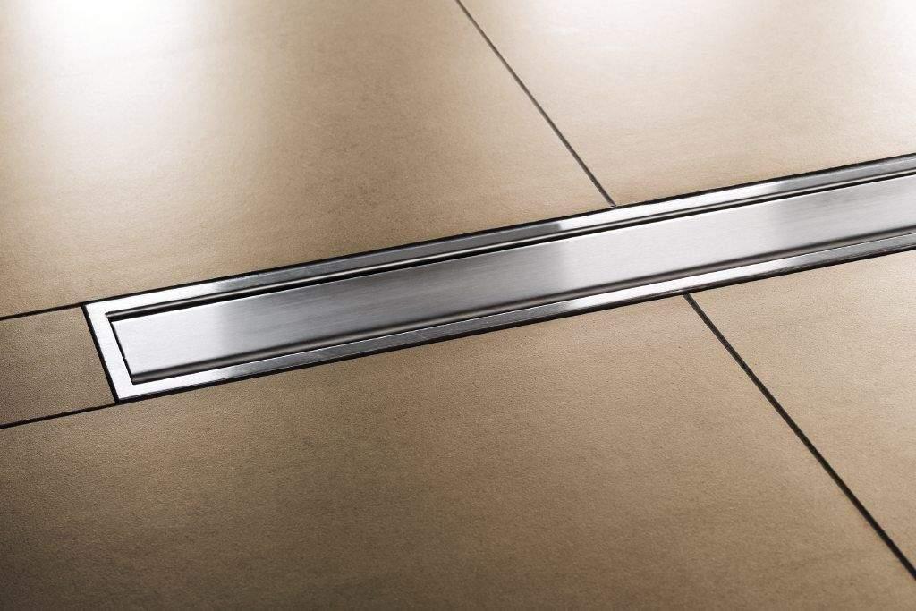 Schlüter KERDI-LINE Designrost A mit 30mm Rahmen Edelstahl V4A gebürstet