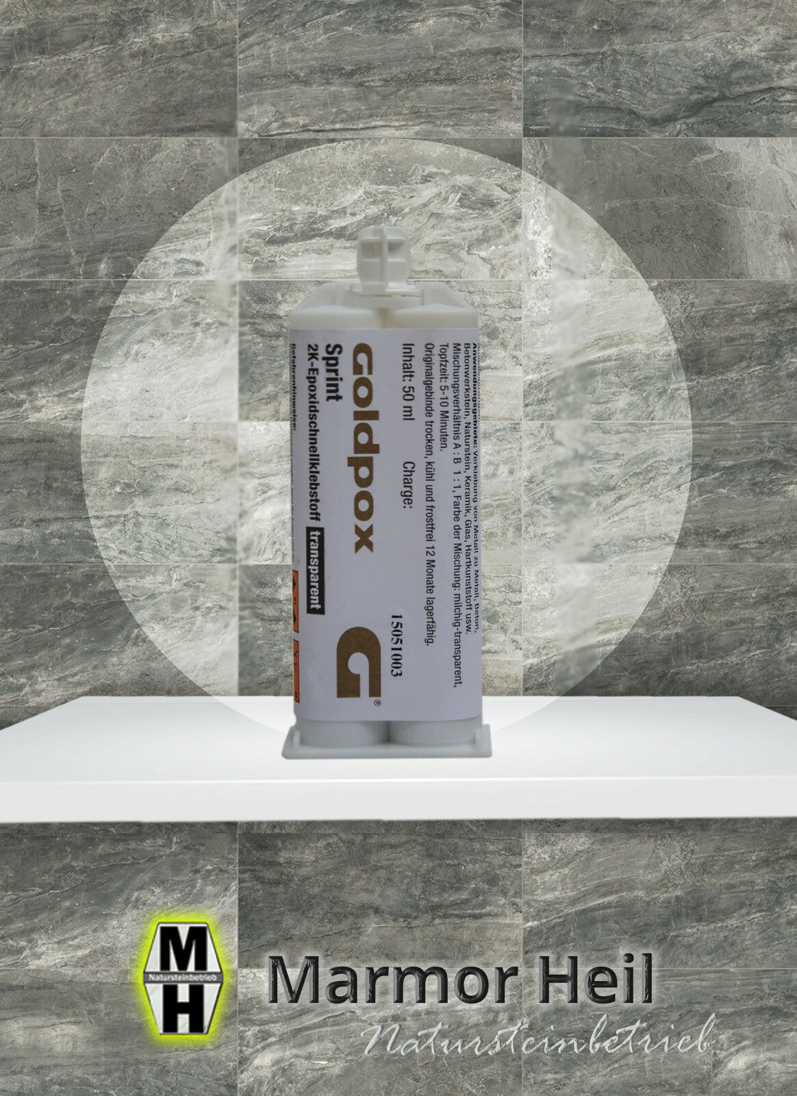 Goldpox Sprint Epoxidharz-Basis 50ml