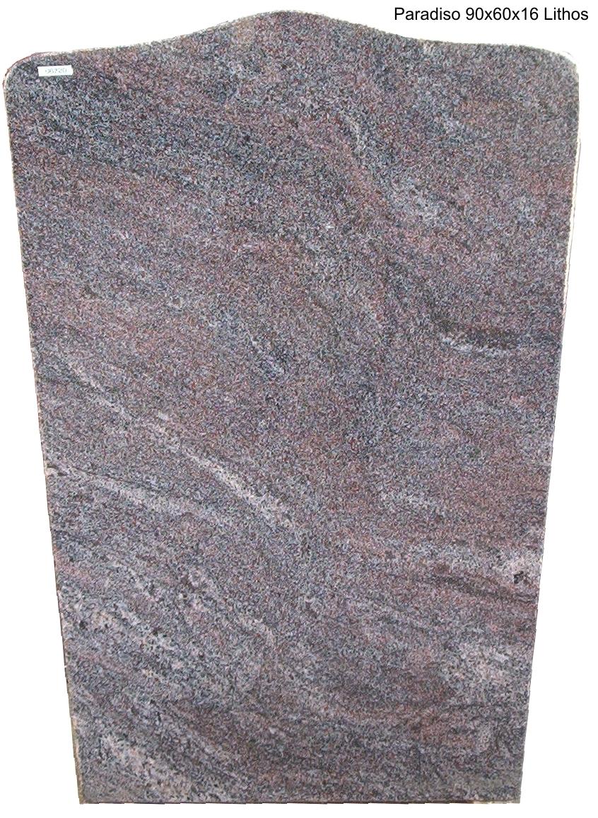 Gedenkstein aus Granit Paradiso poliert