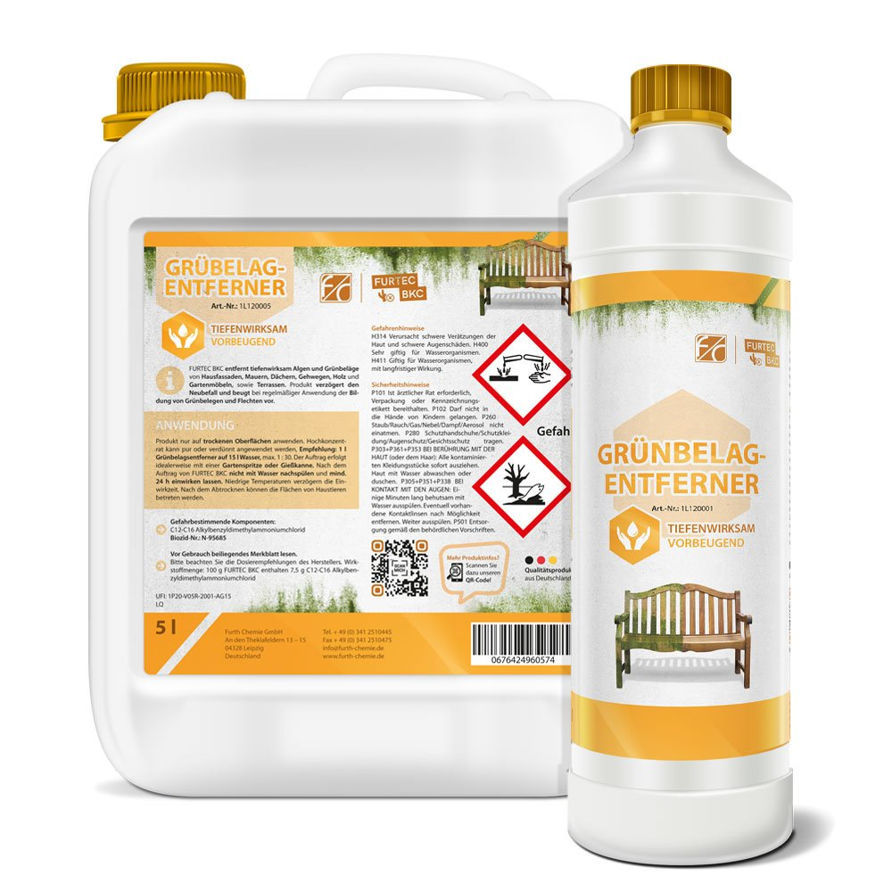 Furth Chemie Grünbelagentferner 1L