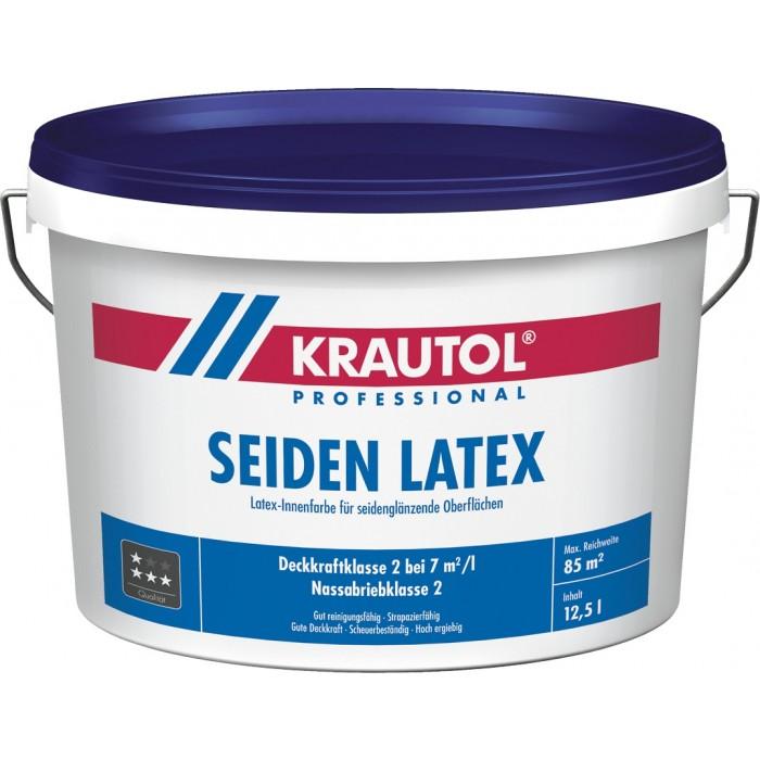 KRAUTOL SEIDEN LATEX weiß - Latex-Innenfarbe für seidenglänzende Oberflächen