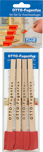 OTTO Fugenfux rot 4er-Set für Sanitär- und Bodenfugen