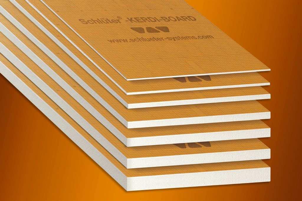 Schlüter KERDI-BOARD Verlegeplatten - 260 x 62,5cm (L x B)